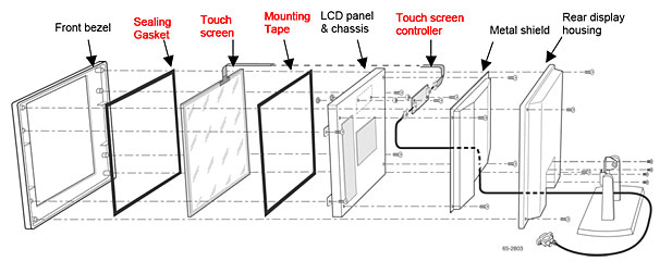 convert lcd monitor to touch screen