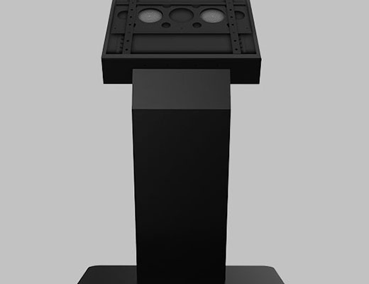 "Touch Monitor Kiosk Stand 43"" - 55"""
