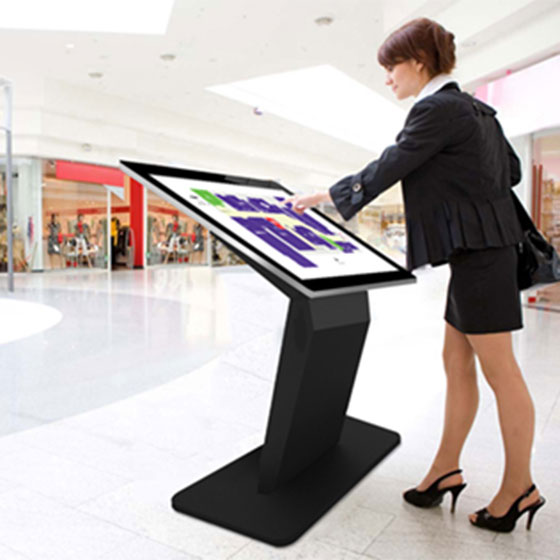 Pedestal Base Kiosks