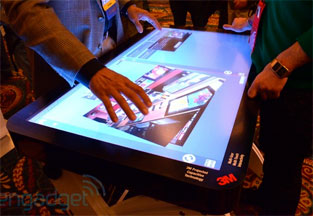 3M™ Touch Systems 46-inch Projected Capacitive Display hands-on