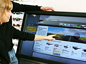 Overlay Touch Screen