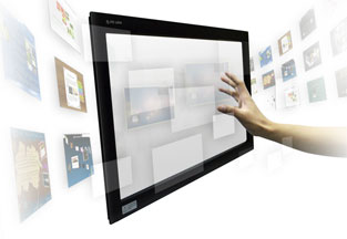 Overlay Touch Screens