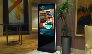 Indoor Totem Kiosk, 1080p HD Touch Screen Monitor