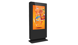 Wall-Mounted Outdoor Touch Screen Kiosk, 1080p HD Touch Screen Monitor